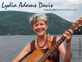 Lydia at the Hudson River Folk Festival